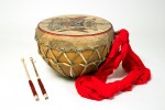 Photograph of ethnic drum from Germany