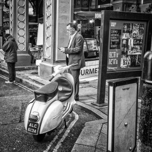 Vespa, Borough Market, London